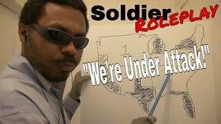 ASMR Soldier Roleplay (War) Battlefield Roleplay with Map Pointing, Map Reading & Map Drawing