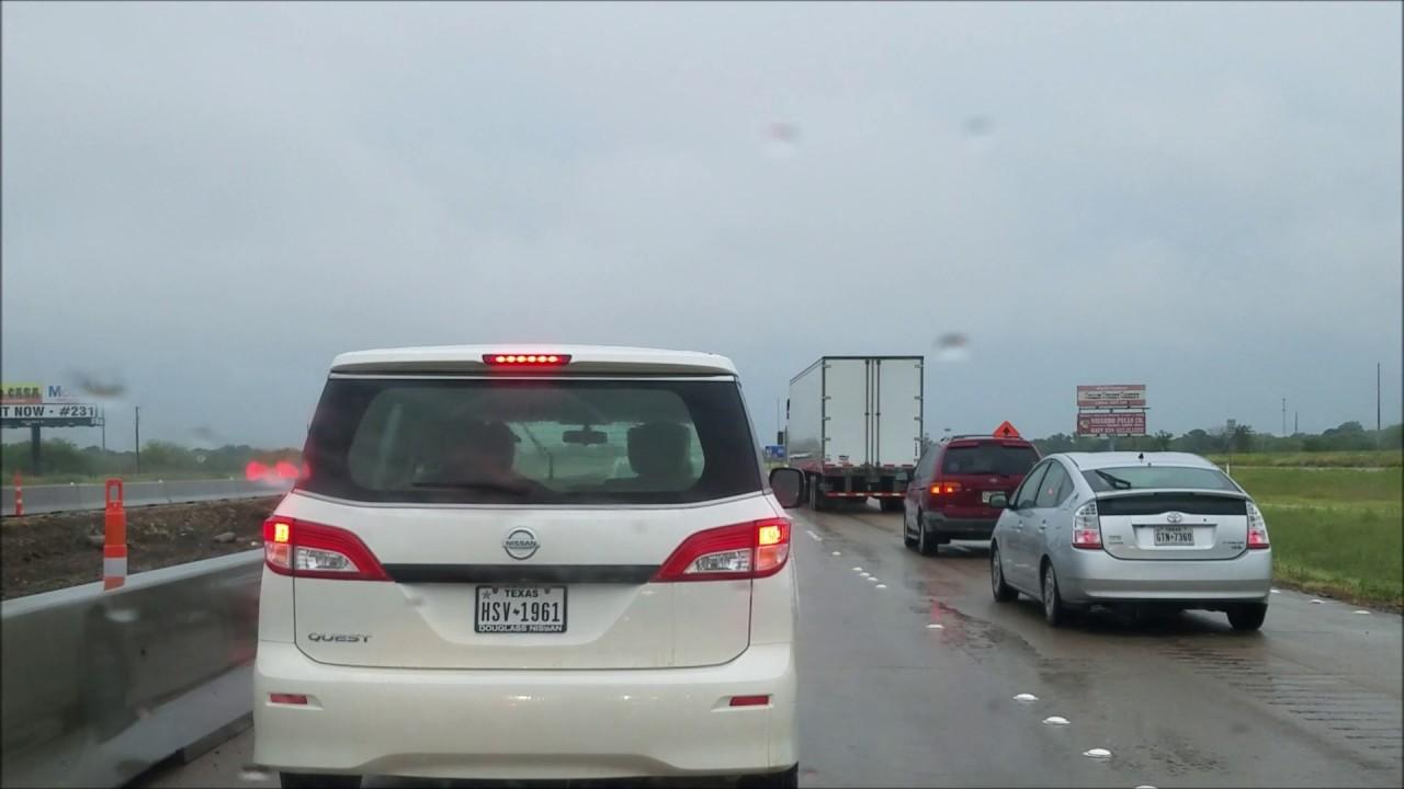 Dallas To Houston Via I-45