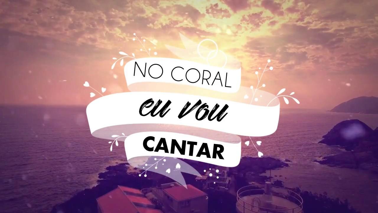 Face a Face worship - No Coral Eu Vou Cantar (Lyric Vídeo)