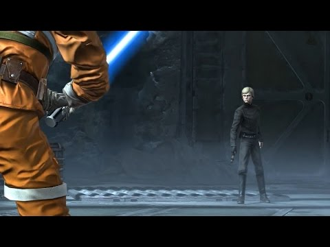 Star Wars: The Force Unleashed: Ultimate Sith Edition - Dark Side Luke vs. Luke |