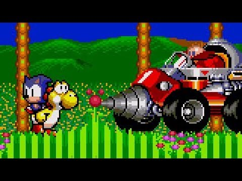 Yoshi in Sonic The Hedgehog 2!!