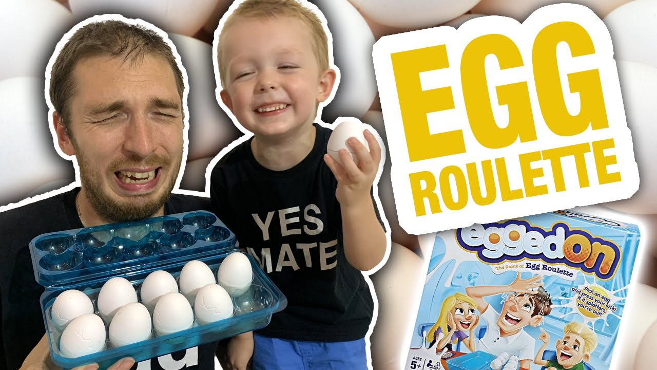 Egg Roulette with a 4 year old 🥚🤦‍♂️