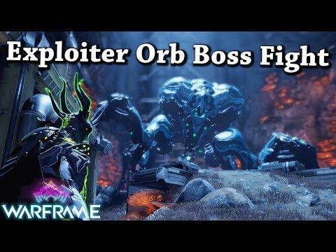 Warframe   Operation: Buried Debts - Deck 12 [Exploiter Orb Boss Fight] thumbnail