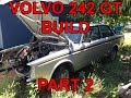 Volvo 242 GT Build Part 2 - THE ENGINE IS FINALLY OUT!