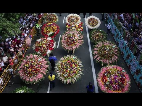 Flower Festival of Medellin celebrates a 60-year-old tradition