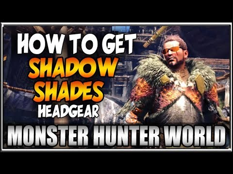 Monster Hunter World Event News - How to Get Shadow Shades Guide and Hunting Tips