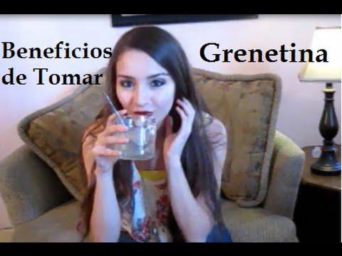 Grenetina natural para bajar de peso