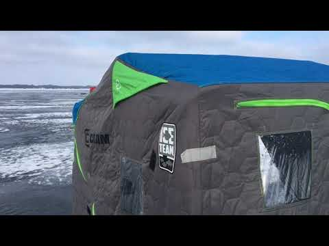 Clam Voyager Ice Team Edition Equipment Review