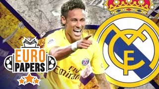 PSG Chiefs PANIC as Neymar Eyes €400m Real Madrid Move | Euro Papers | Eurosport