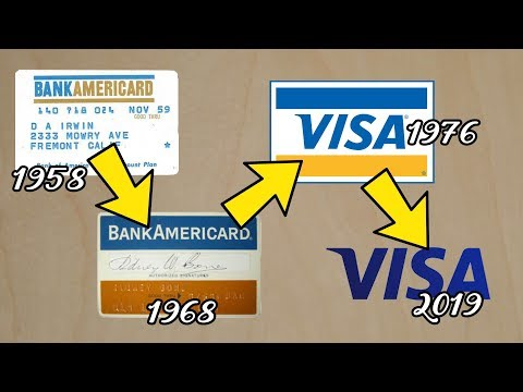 How BankAmericard Became Visa - Story Of The First Credit Card