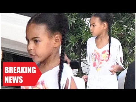 Breaking News-Blue ivy, five, explore yachts on family breaks