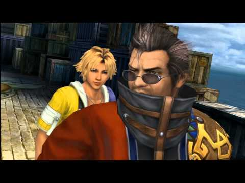 [PS3] Final Fantasy X HD Remaster: Luca attacked, Auron Joins, Tidus and Yuna's Laugh Scene