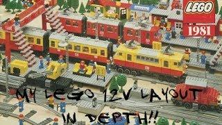 My Lego 12v Layout in Depth 7740, 7725, 7820, 7821, 7858, 7860, 7862, 7864