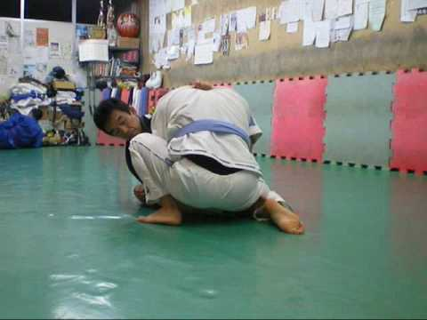 中井祐樹 先生(Mr.Nakai Yuki)rolling with his student