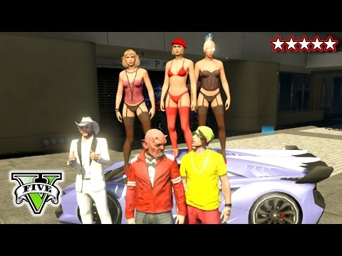 GTA 5 PIMPS & LADIES! | PIMPING A RIDE! GTA V | Ladies & Pimps Having A GTA Time