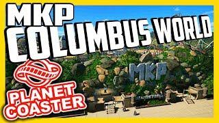 MKP Columbus World - Der Park ist voll... | PARKTOUR - Planet Coaster
