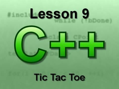 C++ Console Lesson 9: Tic Tac Toe