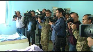 Международные журналисты в фронтавом зоне (Азербайджан)  - Xarici jurnalistler cebhe bölgesinde -