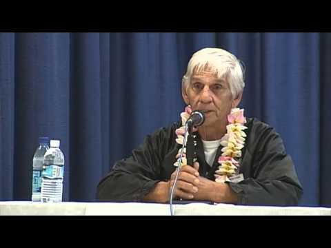 Joseph Barrozo - Hawaii County Mayoral candidate forum in Kona (Aug. 2008)