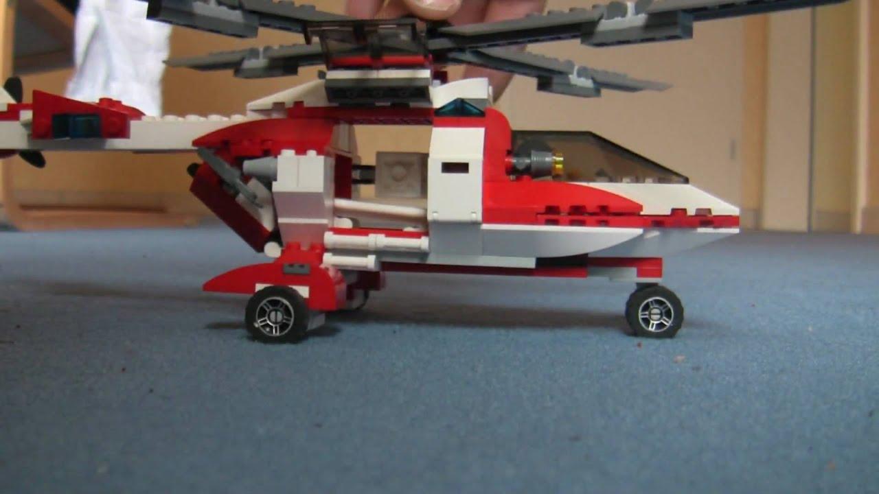 как сделать машину-вертолет из лего явно были