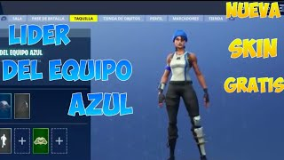 Tutorial on how to get the new skin of fortnite leader of the blue//ItsCarlosDash_YT