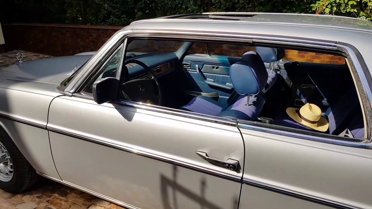 mercedes benz 280ce w114 coupe for sale youtube. Black Bedroom Furniture Sets. Home Design Ideas
