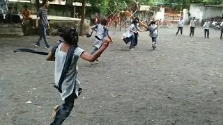 Outdoor game girls રમત ગમત सुंदर खेल