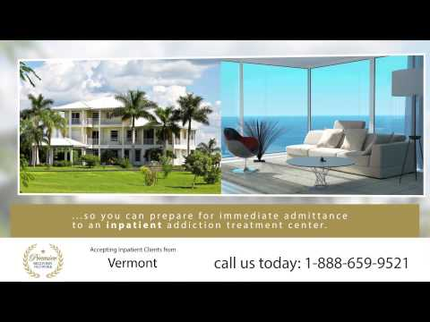 Drug Rehab Vermont - Inpatient Residential Treatment