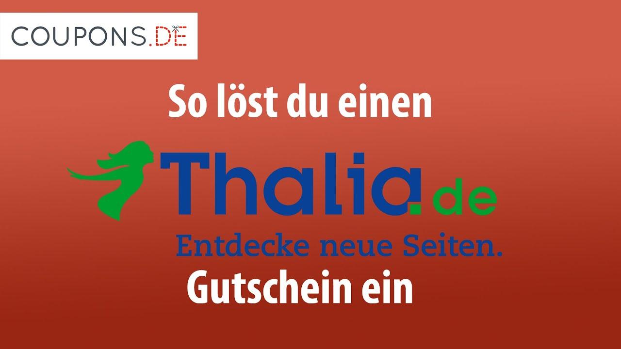 Thalia.de Gutschein Einlösen