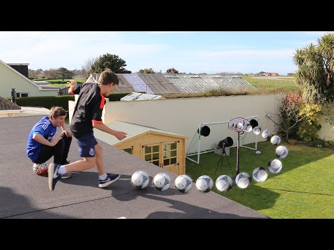 Thumbnail: ROOF TOP FOOTBALL CHALLENGES