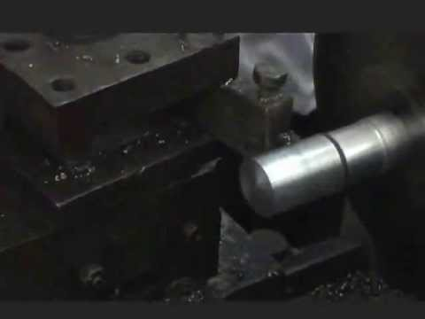 TURNING OPERATION PERFORMED OVER LATHE MACHINE USING SINGLE POINT HSS CUTTING TOOL (OBLIQUE CUTTING)
