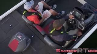 Ranger Aluminum RT188c On Water Footage