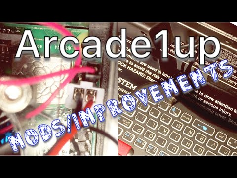 Repeat Modded Arcade1up - Using Power Button and Fan in Case