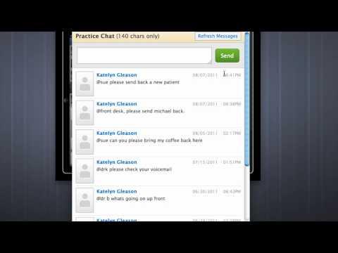 Medical Office Chat On IPad And Web - Free IPad EMR | Drchrono