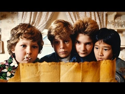 GOONIES; SOUNDTRACK(S); MAP & WILLIE/ OCTOPUSS/ PIRATE SHIP By David Grusin