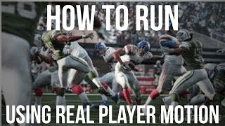 How to run the ball in Madden 19 with RPM