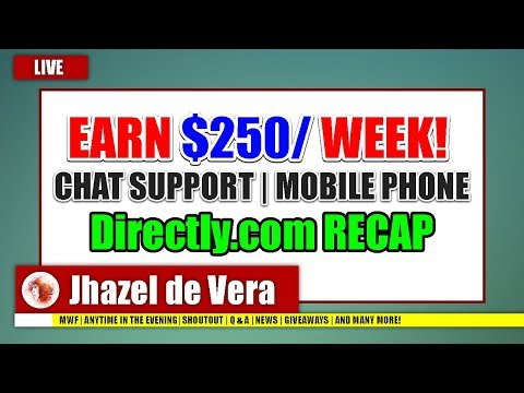 NON-VOICE CHAT SUPPORT | PWEDE SA PHONE | Directly.com FULL TUTORIAL APPLICATION