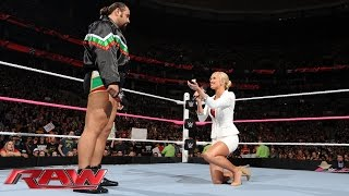 Summer Rae proposes marriage to Rusev: Raw, Oct. 5, 2015