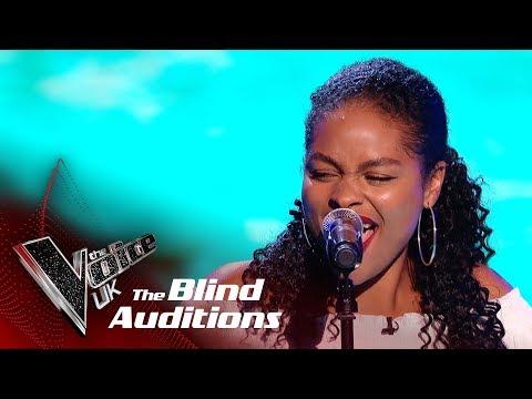 Khadija's 'Underwater Love' | Blind Auditions | The Voice UK 2019