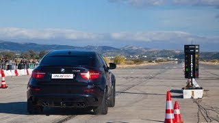 BMW X6M vs. BMW M6 vs Porsche 911 Turbo