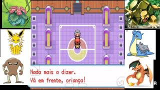 Pokemon fire red #ep9 campeão da liga pokemon