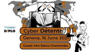 Biden–Putin cyber detente: With Elena Chernenko from the Russian daily 'Kommersant'