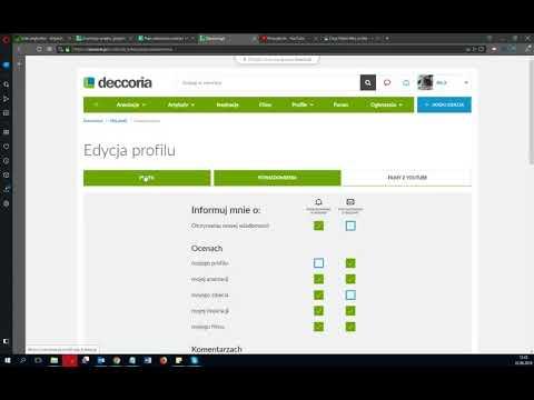 Jak edytować powiadomienia w Deccoria.pl?