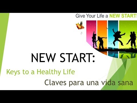 NEW START health program part 2 - Full Bilingual