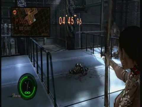 Girls of Gaming Tips & Tricks -- RE5 Versus; THE CHICKEN