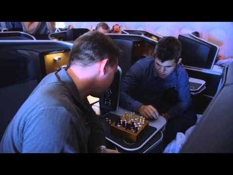 The 30 000 feet chess challenge: play chess against the world chess champion Magnus Carlsen | SAS