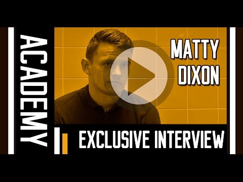 Exclusive Interview | Matty Dixon | 4th December 2015
