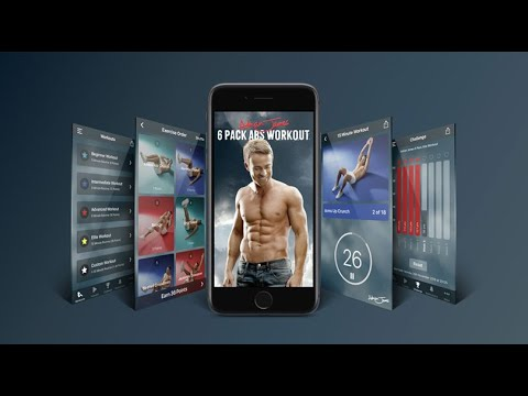 Adrian James 6 Pack Abs Workout - Over 1 million App Store downloads!