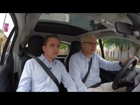 Unterwegs im neuen Smart Electric Drive