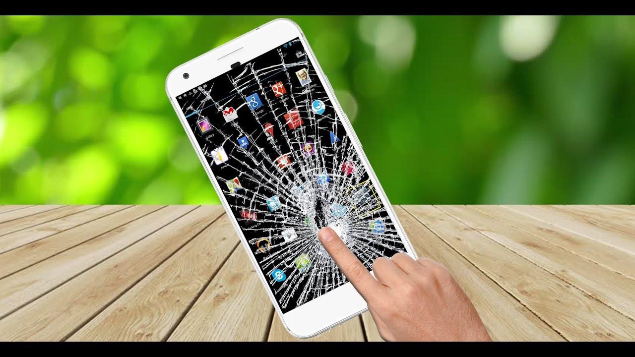 Broken screen prank app youtube - How to do the broken tv screen prank ...